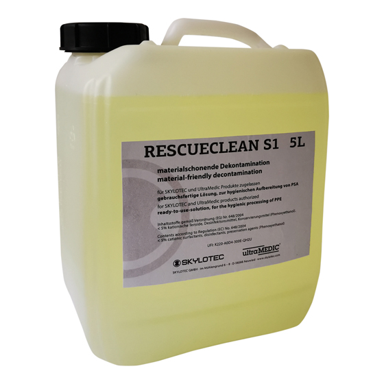 RescueClean S1, 5-l-Kanister